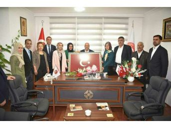 Hizmet-iş Heyetinden Başkan Koç'a Ziyaret