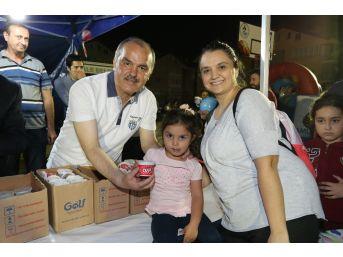 Pamukkale'de Çocuk Şenlikleri Devam Ediyor