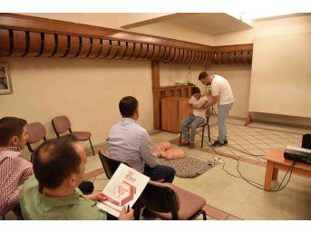 Taşköprü Belediyesi Personeline İlk Yardım Eğitimi
