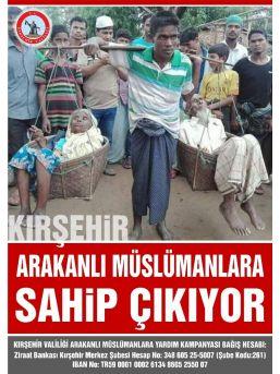 Arakanlı Müslümanlara Yardım Kampanyası Başlatıldı