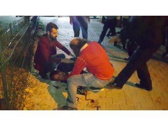 Kuru Sıkı Tabancayla Polise Ateş Açtı...