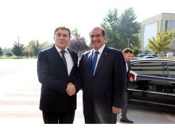 """Vali Salim Demir, """"uşak Üniversitemiz İle Her Türlü İşbirliğine Hazırız"""""""