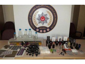 Denizli'de Gümrük Kaçakçılığına 6 Gözaltı