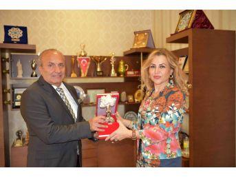 Ptt Başmüdürü Varlıker'den Başkan Arslan'a Veda Ziyareti