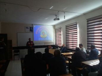 Pazarlar'da Servis Şoförlerine Eğitim