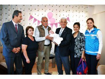 Muğla Büyükşehir'den 'hoş Geldin Bebek' Projesi