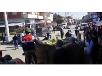 'ayağıma Bastın' Kavgasında Jandarmanın Gözü Önünde Vurdu