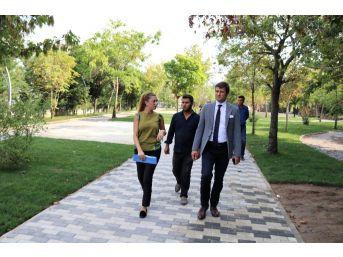 Kızılpınar Mahallesi Muhsin Yazıcıoğlu Parkı Revize Ediliyor