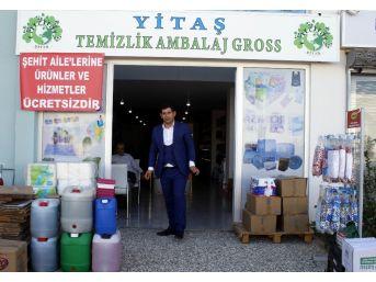 Antalyalı İşadamından Şehit Ailelerinin Evine Ücretsiz Temizlik