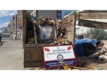 Diyarbakır'da 139 Bin 100 Paket Kaçak Sigara Ele Geçirildi