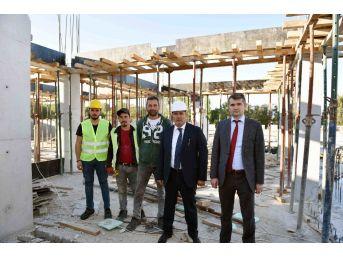 Taşköprü Şehirlerarası Otobüs Terminali İnşaatı Devam Ediyor