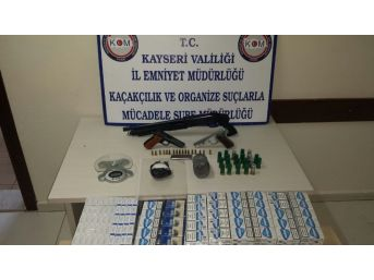 Kaçak Sigara Ve Uyuşturucu Operasyonu: 2 Gözaltı