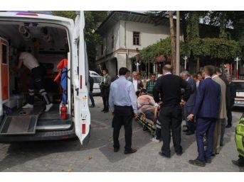 Şaphane'de Trafik Kazası: 1 Yaralı