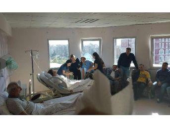 Ak Parti Milletvekili Miroğlu Ve Eşi Kazada Yaralandı