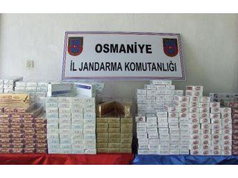Şüpheli Araçtan Bin 40 Paket Kaçak Sigara Çıktı