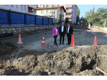 Başkan Dişli, Altyapı Çalışmalarını Yerinde İnceledi