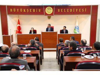 Büyükşehir Belediyesi Ekim Ayı Meclis Toplantısı Gerçekleşti