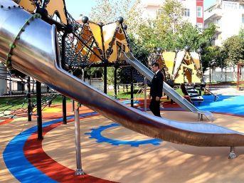 Muhsin Yazıcıoğlu Parkı Yenilendi
