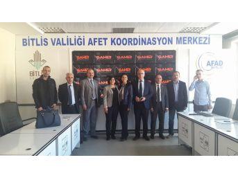 Muş Afad'dan Bitlis Afad'a Ziyaret