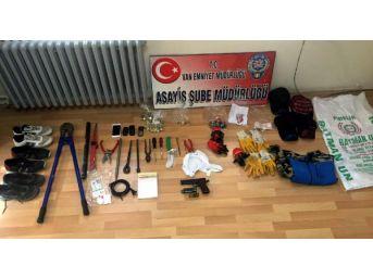 Van'da 15 Ayrı Hırsızlık Olayına Karışan 7 Kişi Tutuklandı