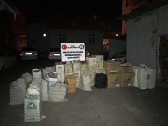 Van'da Kaçak Sigara Ve Içki Operasyonu (2)