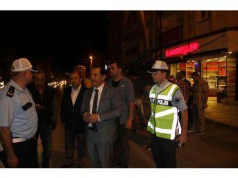 Adana'da Motosikletlere Trafik Denetimi