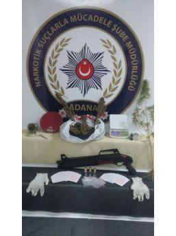 Polis Uyuşturucu Operasyonunda İlk Kez