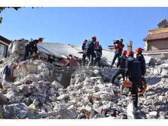 Aksaray'daki Deprem Tatbikatı Gerçeğini Aratmadı