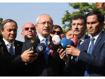 Kılıçdaroğlu İçişleri Bakanlığı Gereğini Yapıyor Zaten Zorla Istifaya Zorlamayı Doğru Bulmuyorum