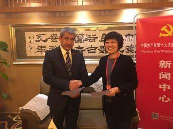Tgk , Çin Gazeteciler Birliği İle İşbirliği Protokolü İmzaladı