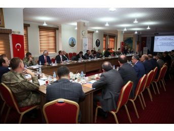İl Afet Ve Acil Durum Koordinasyon Kurulu Toplantısı