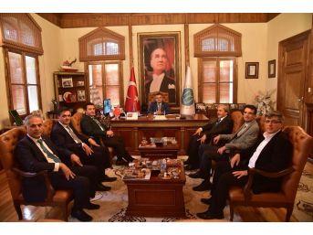 Belediye Başkanları'ndan Başkan Yağcı'ya Destek