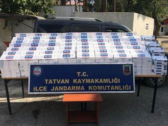 Tatvan'da 10 Bin Paket Kaçak Sigara Ele Geçirildi