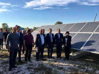 Balabanköy'e 523 Tl'ye Kurulan Güneş Enerji Santrali Açıldı