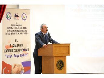 """""""7. Karadeniz Uluslararası Sempozyumu"""