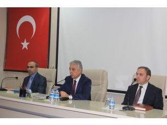 Hakkari'de 4. Dönem İl Koordinasyon Kurulu Toplantısı Yapıldı