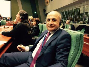 Başkan Hasan Akgün Strazburg'da Ülkemizi Temsil Edecek