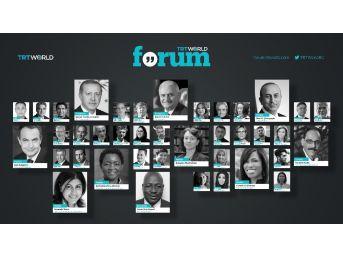 Trt World Forum, 18-19 Ekim'de İstanbul'da Yapılacak