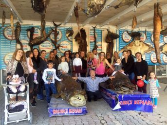 Türkiye Deniz Canlıları Balıkçı Kenan Müzesine, Anneler Ve Çocuklardan Yoğun İlgi