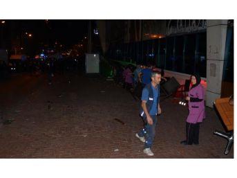 Karabük'te Avm Terasında 'intihar Girişimi' Kavgası