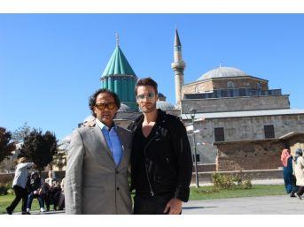 'islamofobi' Filminin Hollywood Oyuncusu Ve Yapımcısı Konya'da
