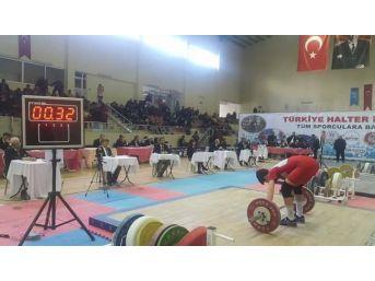 Okul Sporları Halter Türkiye Şampiyonası Simav'da Yapılacak