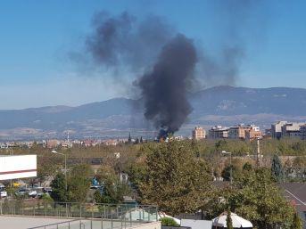 Turgutlu'da Merkez Trafoda Yangın Çıktı