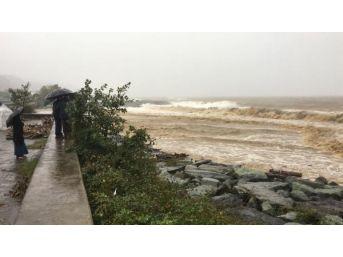 Rize'de Sel Sularına Kapılan 1 Kişi Kayboldu (2)