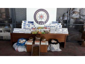 Kaçak Tütün Ve Sigara Operasyonuna 93 Gözaltı