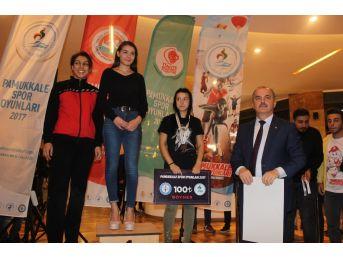 Pamukkale Spor Oyunları Başladı