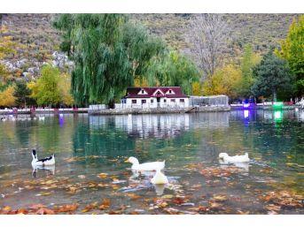 Seydişehir Kuğulu Park'ta Kartpostallık Görüntüler