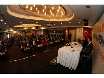 Bakan Osman Aşkın Bak Kyk İl Müdürleri İle Biraraya Geldi
