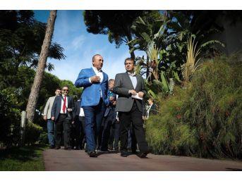 Dışişleri Bakanı Çavuşoğlu, Antalya'da Almanya Dışişleri Bakanı'yla Bir Araya Geldi