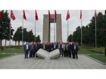 Muhtarlar Çanakkale'yi Ziyaret Etti